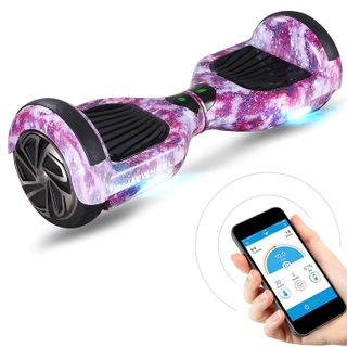 "Bluewheel HX310s 6.5"" Hoverboard Self Balance Scooter - Kinder Sicherheitsmodus mit App – Bluetooth Lautsprecher – Starker Dual Motor – LED - Elektro Self-Balance Board E-Skateboard"