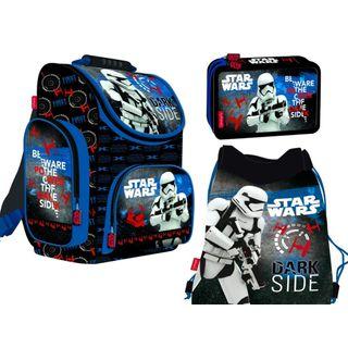 3-teiliges Schulranzenset Star Wars Schulranzen