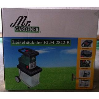 Mr Gardener Elektro Leisehäcksler GHS 2842B