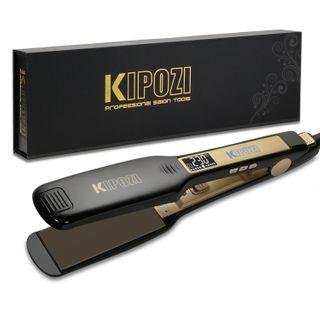 KIPOZI Profi Glätteisen Haarglätter Ionen Technologie
