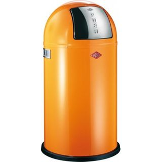 Wesco Pushboy 50L Design Mülleimer Orange