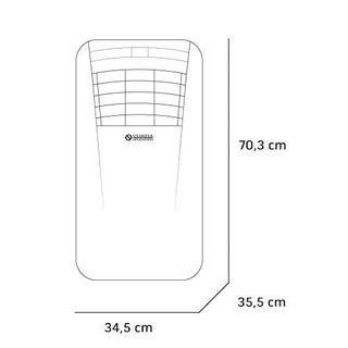 Olimpia Splendid 01921 Dolceclima Compact 10 P Mobiles Klimagerät 10.000 BTU