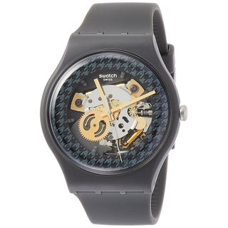 Swatch Herren Analog Quarz Uhr SUOM109