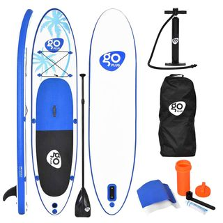 COSTWAY Sup Board Paddelboard Surfboard Stand Up Board Set Paddelbrett