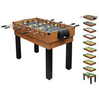 1PLUS umfangreicher Multifunktionsspieltisch Tischkicker-Multifunktionstisch