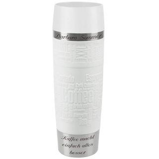 Emsa Thermobecher Travel Mug mit persönlicher Rund-Gravur Edelstahl 500 ml