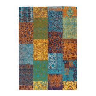Lalee Teppich Wohnzimmer Carpet modernes Design Patchwork