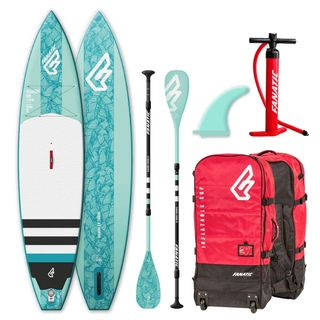 Fanatic Diamond Air Touring Inflatable 11.6 SUP isup Stand up Paddle Board