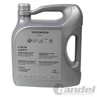 Volkswagen VW Ersatzteile VW Audi Longlife 3 III Motoröl