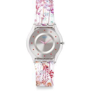 Swatch Damenuhr Analog Quarz SFE102