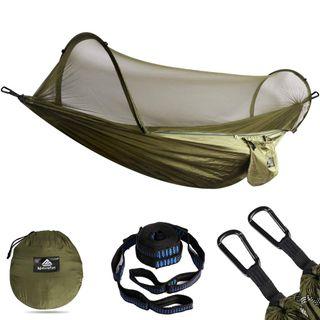 NATUREFUN Ultraleichte Reise Camping Hängematte