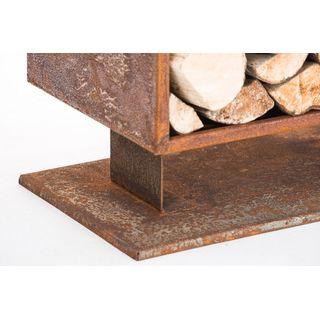 CLP Metall Kaminholzständer Cubito