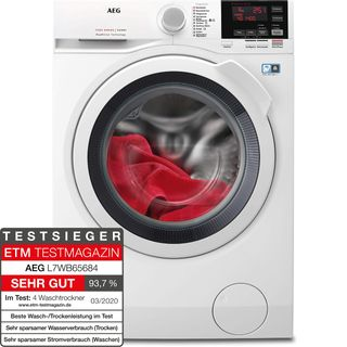 AEG L7WB65684 Waschtrockner DualSense