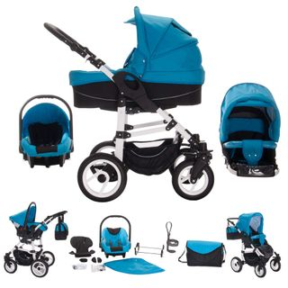 Bebebi Paris 3 in 1 Kinderwagen Komplettset