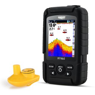 LUCKY Fishfinder Wireless Tragbarer Fisch-Finder 45 m/147feet