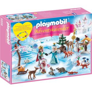 Playmobil 9008 Adventskalender Eislaufprinzessin im Schlosspark