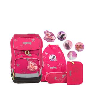 ergobag cubo Light Schulranzen-Set 5 TLG