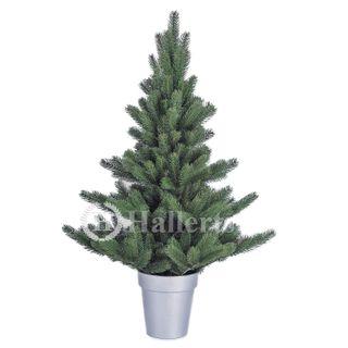 Original Hallerts Spritzguss Weihnachtsbaum Alnwick 90 cm als Nordmanntanne