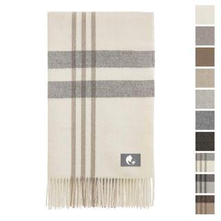 Kuschelige Baby Alpaka Decke in 10 Farben - 100% Alpakawolle