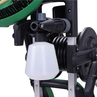 Monzana Hochdruckreiniger   135 bar   1900 Watt   Aluminiumpumpe   inkl. umfangreiches Zubehör   Aktionsradius bis zu 10m