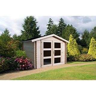 Alpholz Gerätehaus Holz mit Boden 270 x 210cm