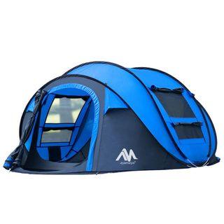 2win2buy Camping Zelt 3 4 Personen Pop Up Zelte im Wurfzelt