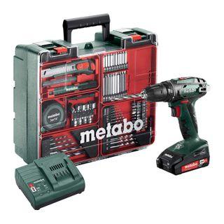 Metabo Akku-Bohrschrauber BS 18 Mobile Werkstatt Set