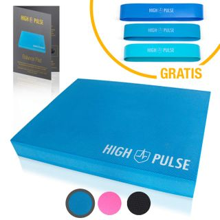 High Pulse Balance Pad inkl. Übungsposter