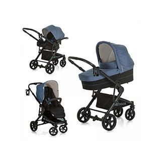 Hauck 3 in 1 Kinderwagen komplettset Atlantic Plus Trio Set