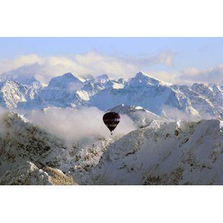 Jochen Schweizer Geschenkgutschein: Panorama-Ballonfahrt Tiroler Alpen