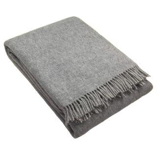 Zaloop Wolldecke aus 100% neuseeländischer Schurwolle