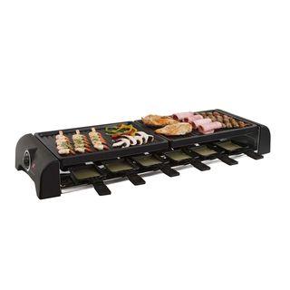 Großer Raclette Grill Grillplatte Tischgrill Elektrogrill