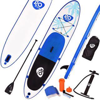 COSTWAY Sup Board Paddelboard Surfboard Stand Up Board Set Paddelbrett