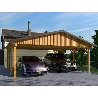 Carport Satteldach Monza II 600x600cm