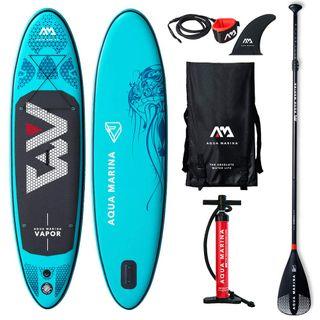 Aqua Marina Aufblasbares Stand Up Paddle SUP Aquamarina Vapor 2019 Komplettpaket