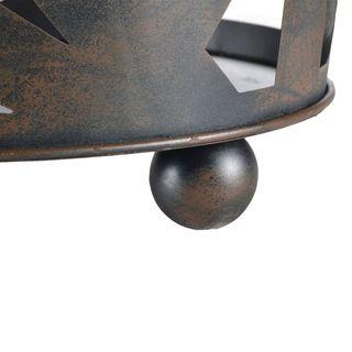 Design Stahl Feuer-Korb