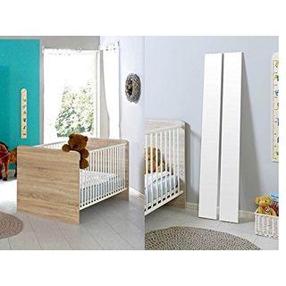 Moebel Dich Auf Babyzimmer Kinderzimmer Komplettset Elisa 1 In Eiche