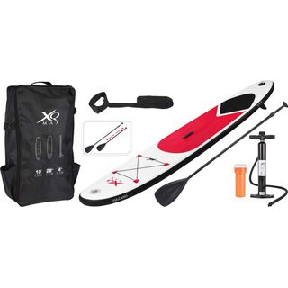 XQ Max SUP aufblasbares Stand Up Paddle Board Set 305 in Rot