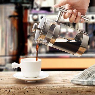 SILBERTHAL French Press Kaffeebereiter 1 l aus Glas
