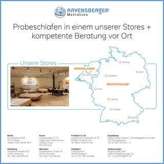 Ravensberger Matratzen Natur Latexmatratze LATEXCO 100x200