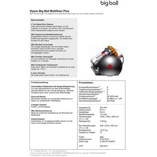 Dyson Big Ball Multifloor Plus