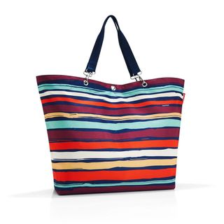 reisenthel shopper XL artist stripes Maße: 68 x 45,5 x 20 cm