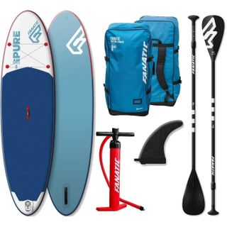 Fanatic Pure Air Inflatable SUP 10.4 Stand up Paddle Board