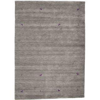 CarpetVista Gabbeh Loom grau Teppich 160x230 Orientalischer Teppich