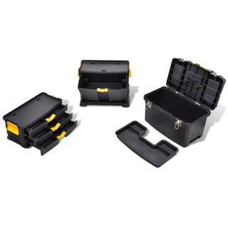 Werkzeugkoffer Werkzeugbox Werkzeugkiste Werkzeugtrolley Werkzeugkasten Schublad