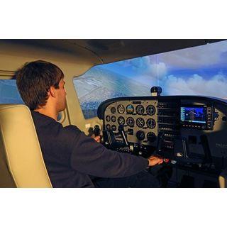 Jochen Schweizer Geschenkgutschein: Full-Motion Cessna 172 Flugsimulator