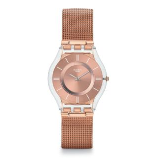 Swatch Damen-Armbanduhr Skin Classic Hello Darling sfp115