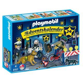 Playmobil 4157 Adventskalender Polizei auf Verbrecherjagd