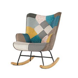 Haushalt Handgefertigter Schaukelstuhl Sessel