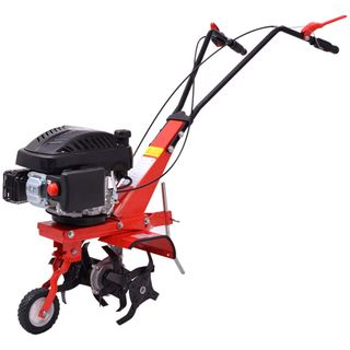 vidaXL Benzin Gartenfräse Motorhacke Bodenhacke Kultivator